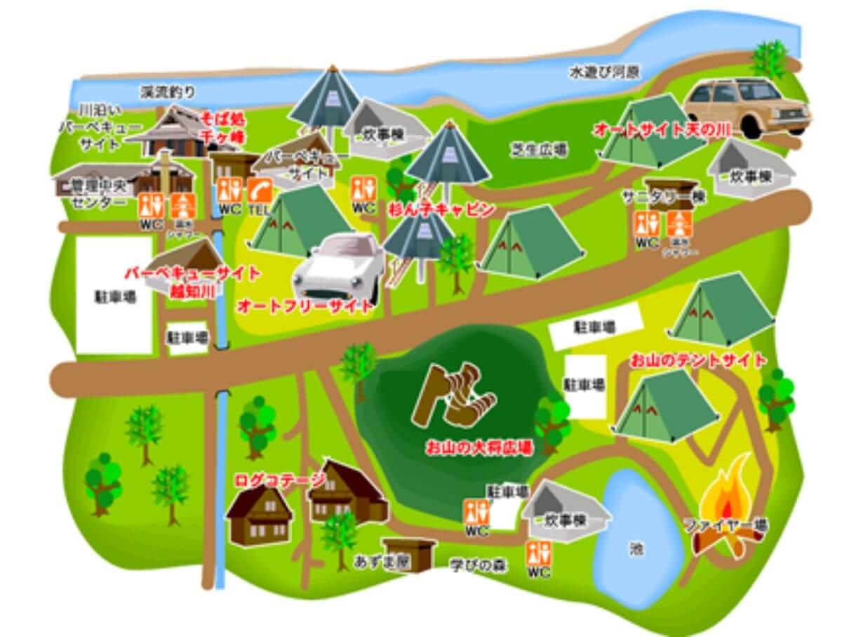 新田ふるさと村区画