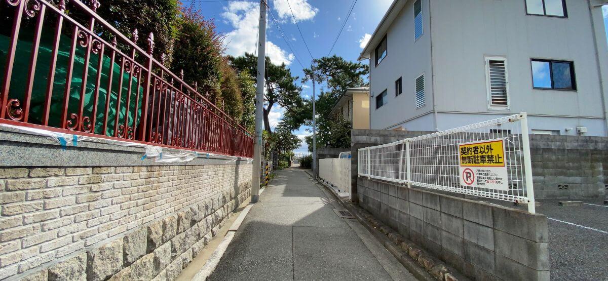 甲山 住宅街