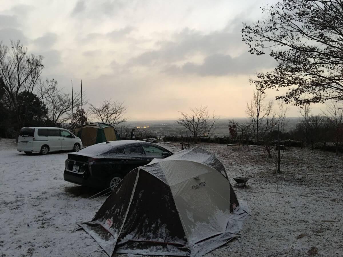 冬キャンプ例1