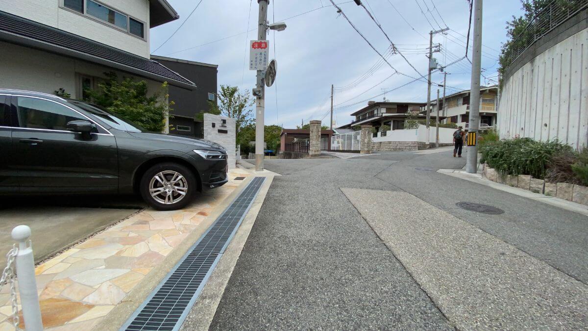芦屋川住宅街2