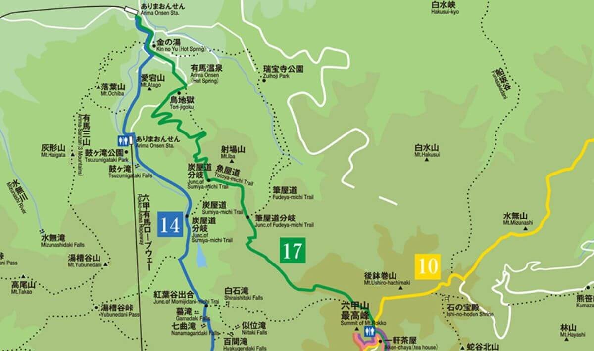 六甲山マップ2