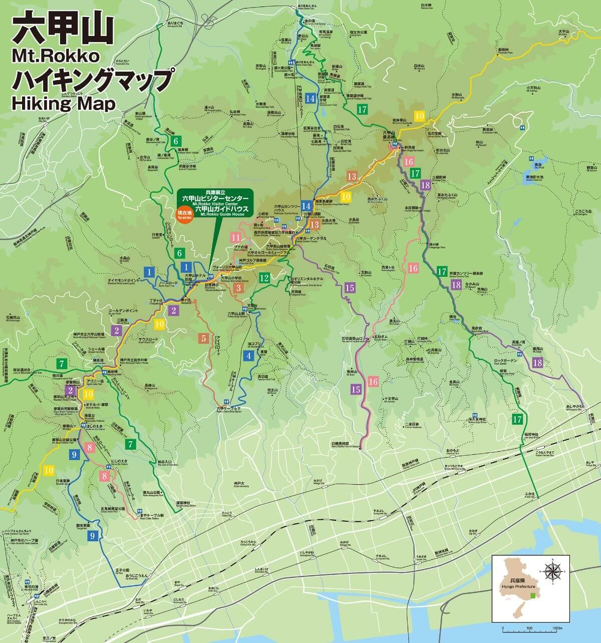 六甲山地図1